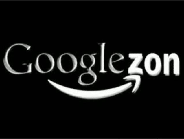Google and Amazon form an alliance. Googlezon is born.