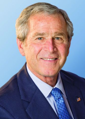George Bush sworn into office