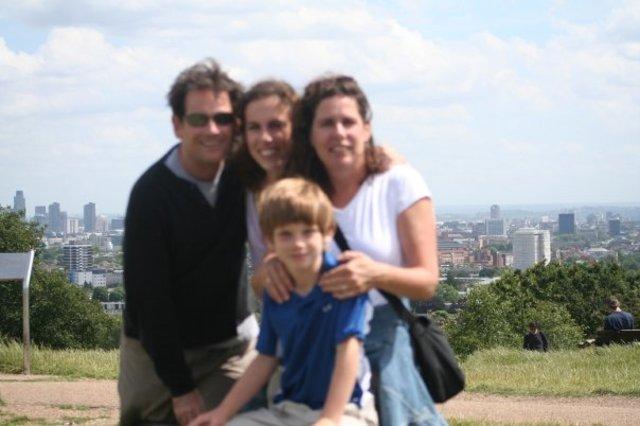 Mi familia y yo fuimos de vacaciones a Inglaterra e Irlanda