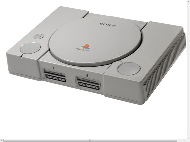 Playstation 1,2, and 3 by Sony