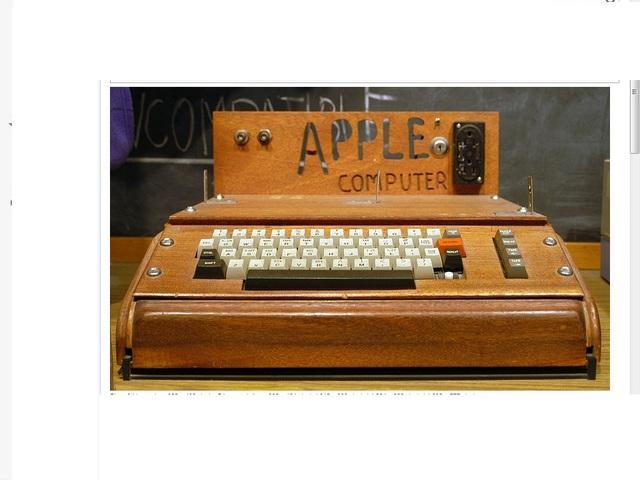 Apple I By Apple inc
