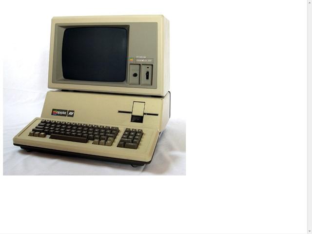 Apple III by apple inc
