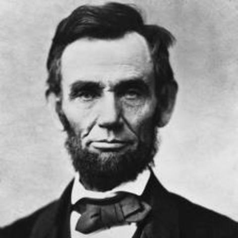 Abraham Lincoln is the 16th president of the United States of America.
