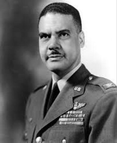 Colonel Benjamin O. Davis, Jr. is named ommander of Godman Field, Kentucky.