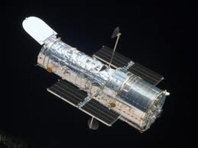 Science & Technology: Hubble space telescope launch