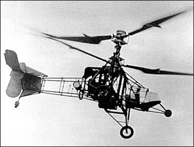 the first helicopter was made