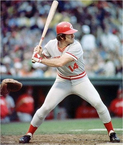 Sports and Music: Pete Rose is born