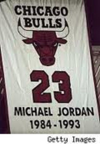 Sports and Music: Michael Jordan Retires