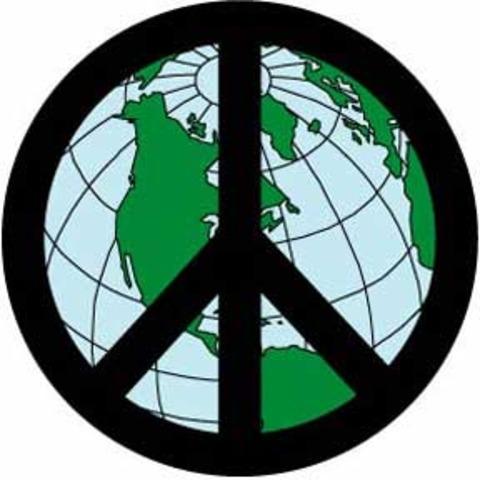 Peace Symbol Created