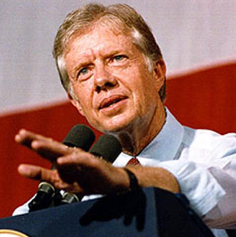 carter elected president