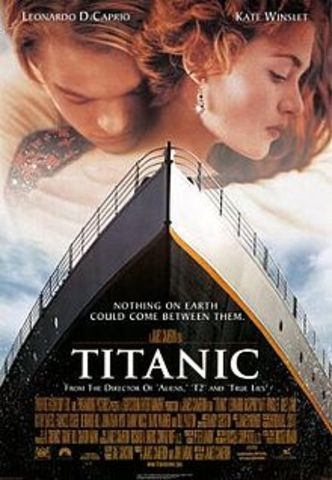The Titanic the movie made the real titanic's tragic death popular in the 1990's.