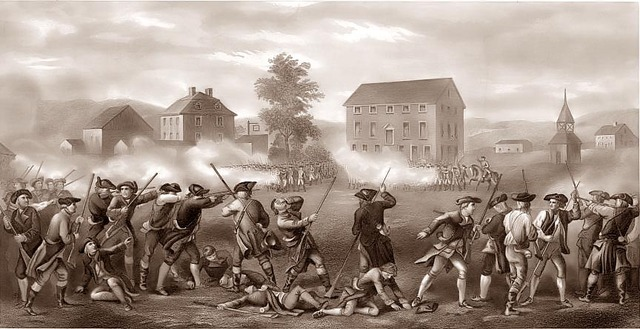 Battle of Lexington and Concord (Continued)