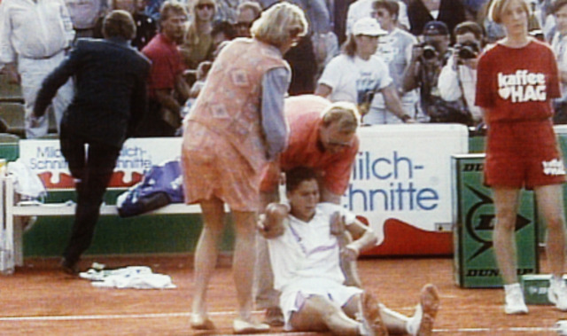 Sports and Music:Monica Sales attacked
