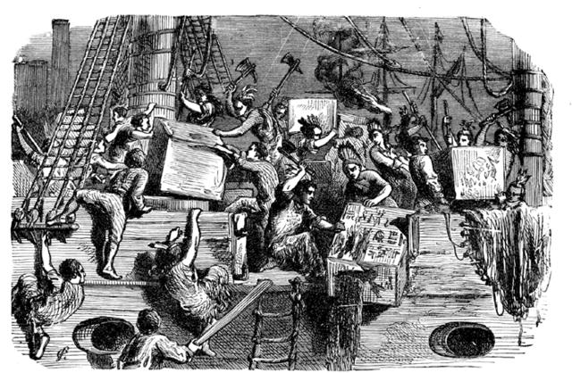Boston Tea Party (Continued)