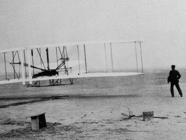Wright Brother's First Airplane Flight