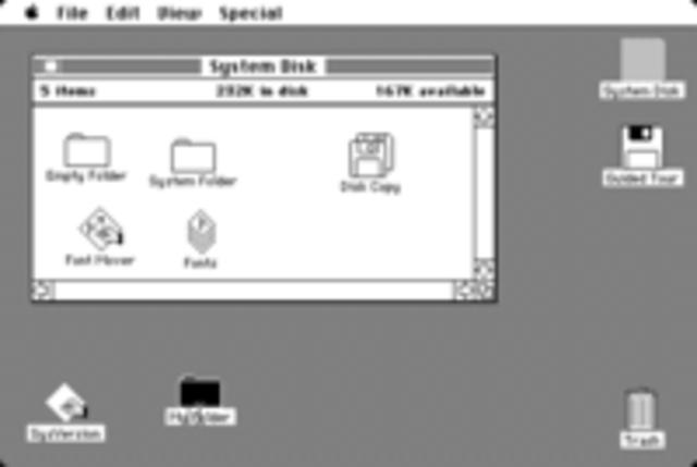 Mac OS Systems 1,2,3&4
