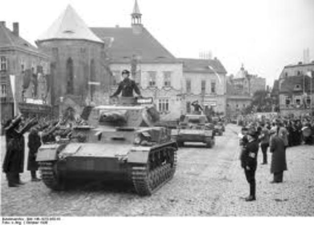 Annexation of Czechoslovakia