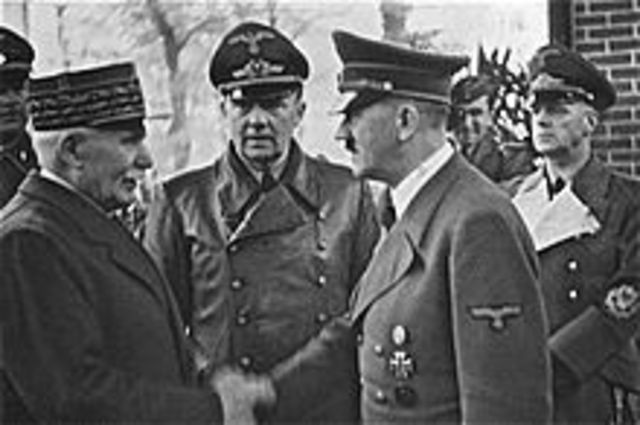 The Formation of Vichy France