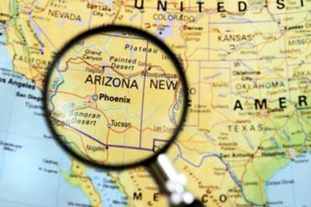 New Mexico and Arizona become states