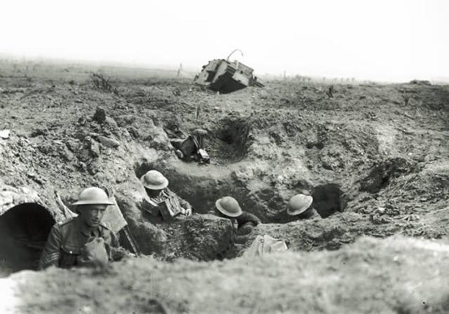 US enters WW1