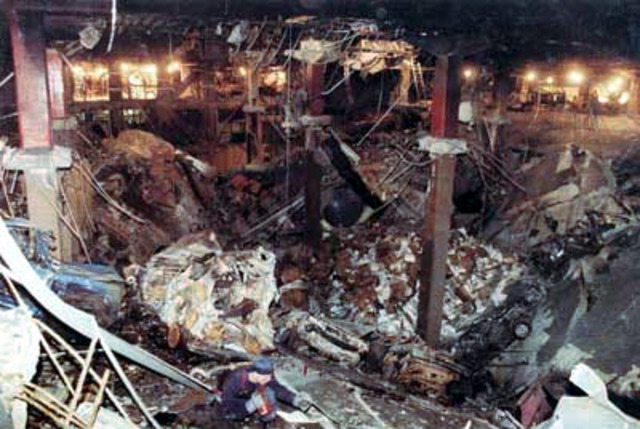 world event:  world trade center bombing