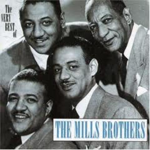 Mills Brothers quartet begins to perform in Ohio