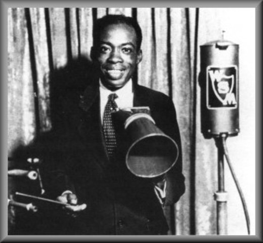 Deford Bailey appears at teh Grand Old Opry