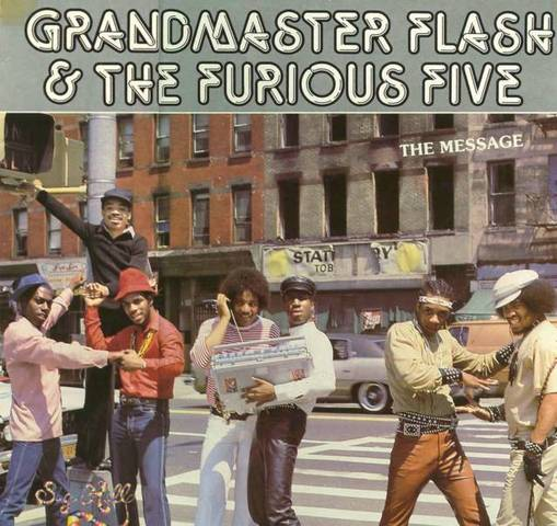 """Grandmaster Flash and the Furious Five releases """"Wheels of Steel."""""""