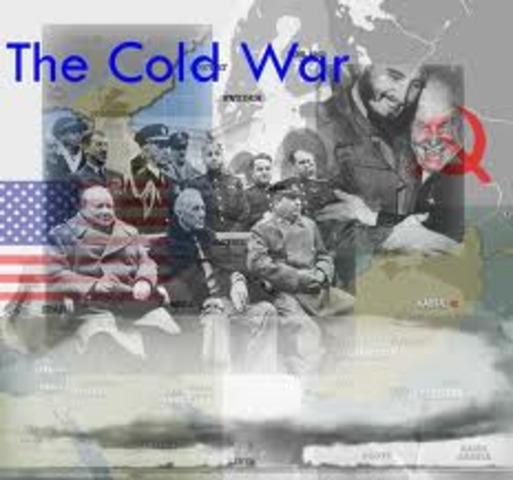 World Events: Cold War.