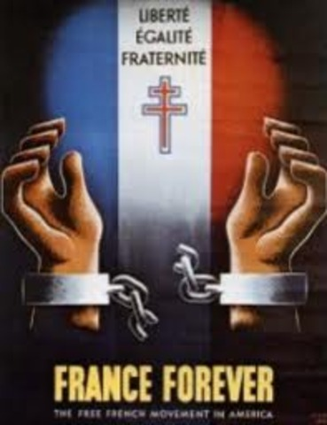 """Formation of the """"Free France"""""""