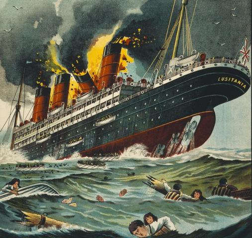 Sinking of the Lustitania