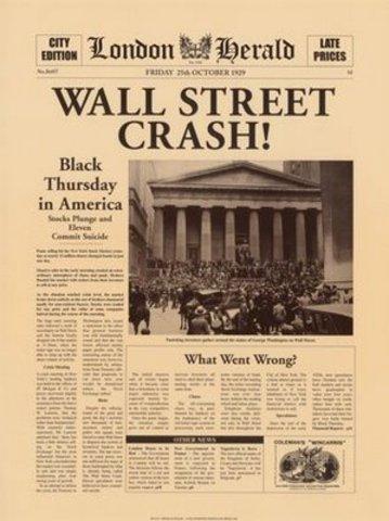 Wall Street Crashes