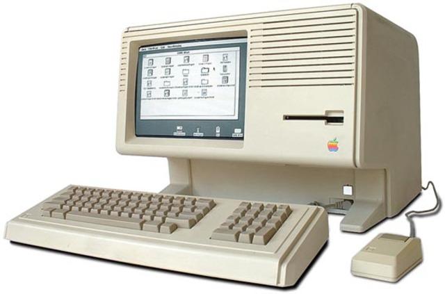 Steve Jobs, el ordenador Lisa