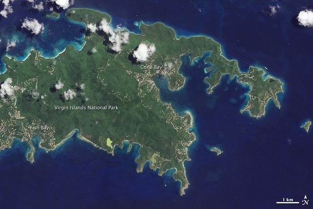 U.S. acquires Virgin Islands