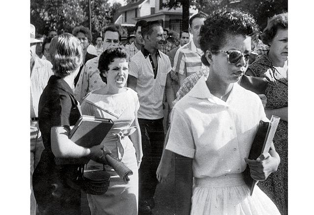 World Events: Blacks Attending All White School