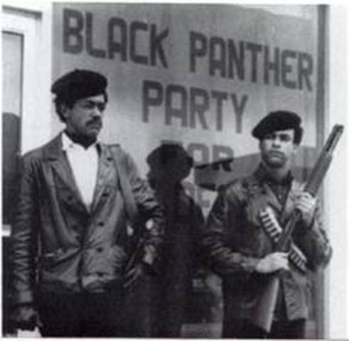 Oakland Police and Black Panthers