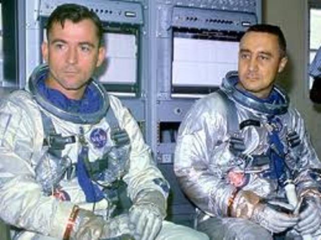 First Manned Flight of Gemini Program