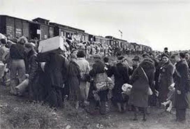 Deporting the jews