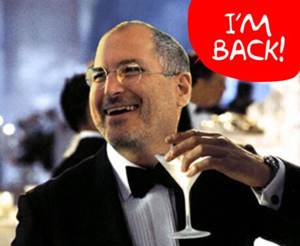 Regresa Steve Jobs a Apple
