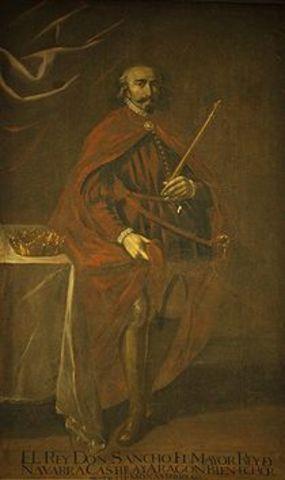 Sancho Garcés III el Mayor (1004-1035) Dinastía Jimena