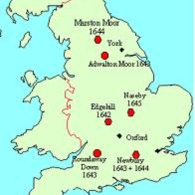 English Civil War timeline