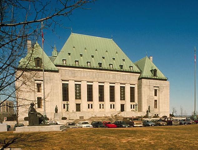 Supreme Court recognizes Aboriginal title in law