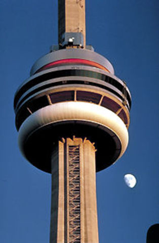 CN Tower Completed