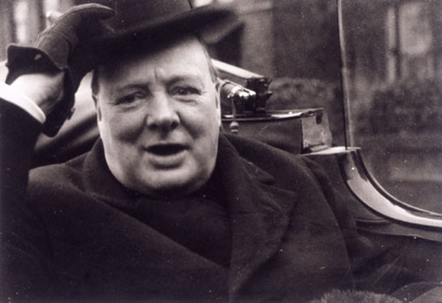 Winston Churchill re-elected Prime Minister of Great Britain