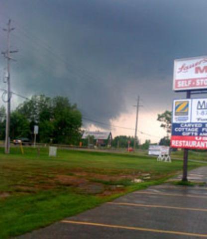 Tornado Hits Barrie