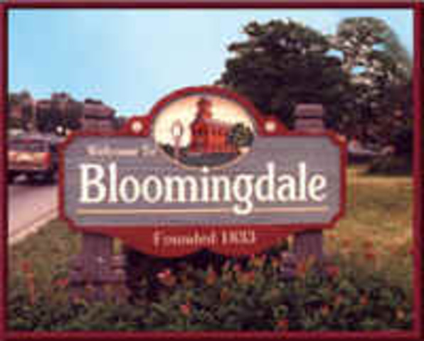 moved to bloomingdale