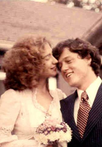 Marries Hillary Rodham