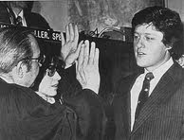 Bill was elected governor of Arkansas.