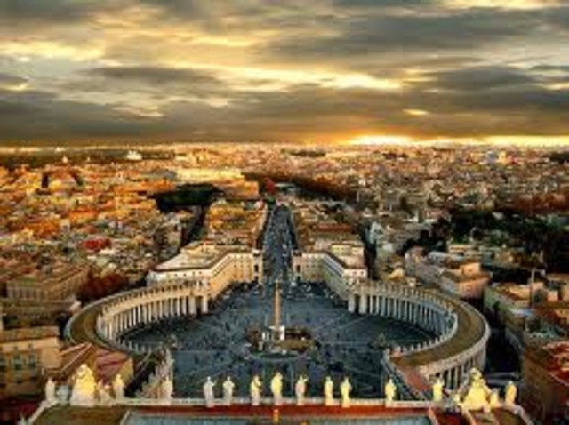 Rome is founded by Romulus