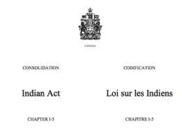 Indian Status Restored